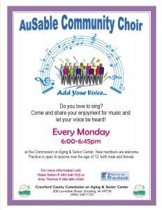 Ausable Community Choir 2015