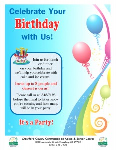 Birthday with Us