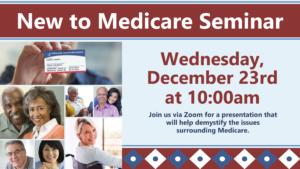 A presentation to help de-mystify Medicare.