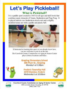 Pickleball Fall 2016