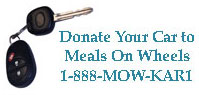Donate Your Car through Meals on Wheels