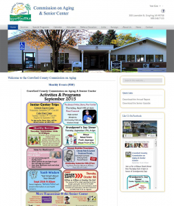 Crawford County Commission on Aging Launches New Website