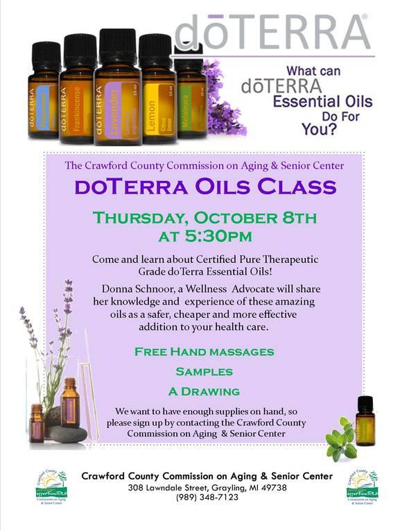 DoTerra Oils Class